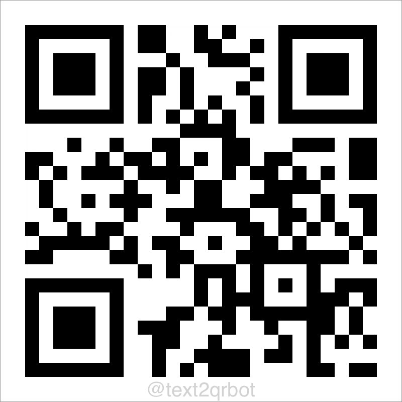 Create QR code from text